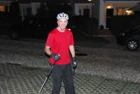 Chris trying out his skates (Portugal ARWC 2009)
