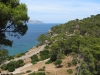 View from youth hostel towards the sea (Mallorca)