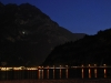 View across lake at night 2 (Lago di Garda)
