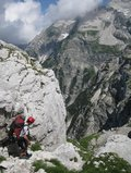 Chris descending (Triglav Nat