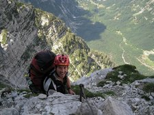 Chris looking happy (Triglav Nat