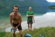 Going swimming (Triglav Nat