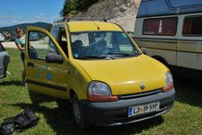 Our little yellow car (Slovenia) resize