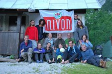 People at biv 2 (Triglav Nat