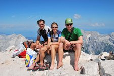 The three climbers (Triglav Nat