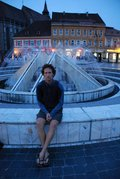 Mark at the fountain (Brasov) resize