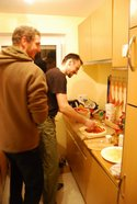 Martin and Branjo in the kitchen (Sonthofen, Germany) resize