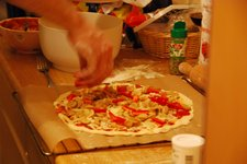 Pizza chef working his magic (Sonthofen, Germany) resize