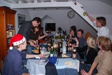 Cheers (Thanksgiving Dinner, Freiburg) resize