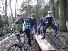 MTBers in the black forest (Freiburg, Germany) resize