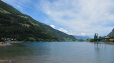 View over lake (Lungern, Switzerland) resize