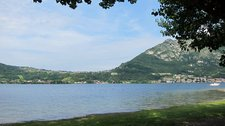 View from camp site (Lago di Lecco) resize