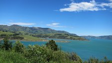 View towards Akaroa side of harbour (Banks Peninsula) resize