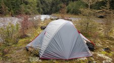 Happy little tent (Otehake cold pools tramp) resize