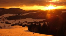Sunset (Ski tour Spiesshorn, Germany) resize