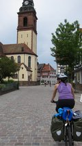 Leonie in Haslach (Cycle touring Schwarzwald) resize