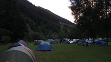 Camping in Zernez (Switzerland) resize
