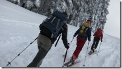 Trudging (Ski touring, Stollenbacher htte)