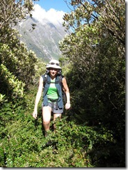 Leonie the rugged mountain woman (Welcome Flats Tramp)