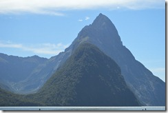 Mitre Peak close up (Milford Sound)