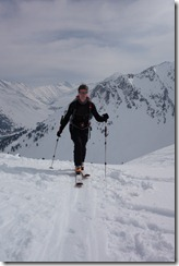 Rolland on tour (Ski touring Kühtai)