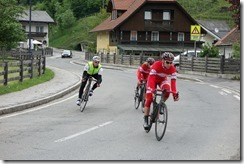 Nearing the final ascent on Stage 4 (Tour de Kärnten)