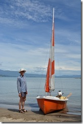 Dad and his boat 2 (Takaka 2013)