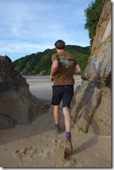 Going running with Brendan (Takaka 2013)