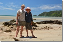 Posing with mother 3 (Takaka 2013)