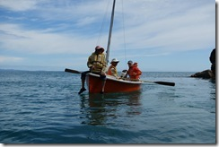 Toby captaining his ship (Takaka 2013)