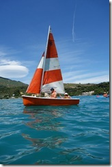 Boat on the water (Takaka 2013)