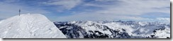 Summit panorama (Ski tour Hohe Matona Feb 2014)