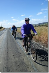 Riding along (Cycle touring Catlins Jan 2014)