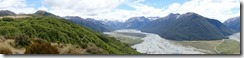 View up the Waimak (Bealy Spur stroll)