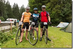 Back at camp after the race (Tannheimer Radmarathon July 2014)