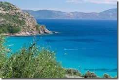 View from the coast (Corsica)