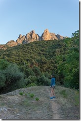 Leonie in the evening (Corsica)