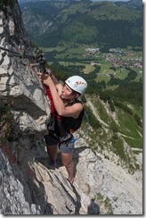 Clipping (Salewa Klettersteig 2015)