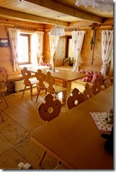 Inside the Similaun Hut 2 (Ski touring Martin Busch Huette)