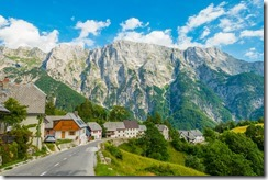 Small village in the mountains (Summer holiday 2015)