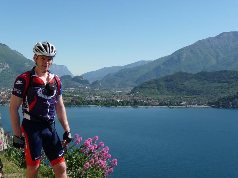 Cris and lake (Lago di Garda, Italy)