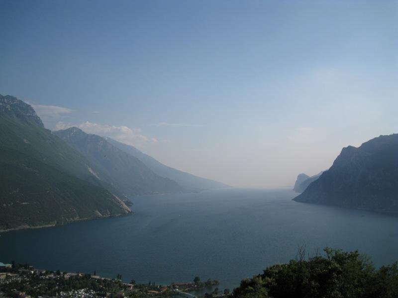 View down to Riva 2 (Lago di Garda, Italy)