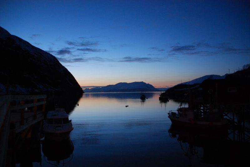 As dark as it gets 2 (Lyngen Alps, Norway)