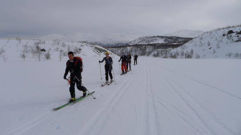 Ascending (Tafeltinden, Norway)