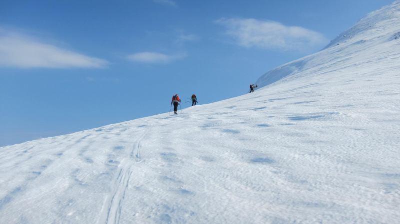 Swiss - Germans ascending (Storgalten, Norway)