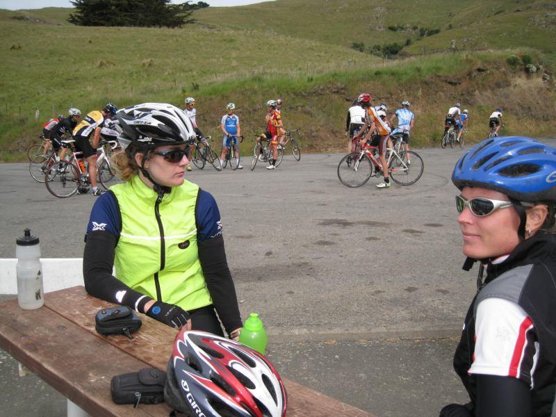 Gina and Frauke (Evans Pass, Christchurch)