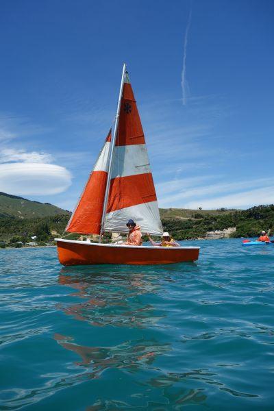 Boat on the water (Takaka 2013)
