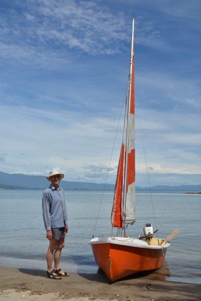 Dad and his boat 2 (Takaka 2013)