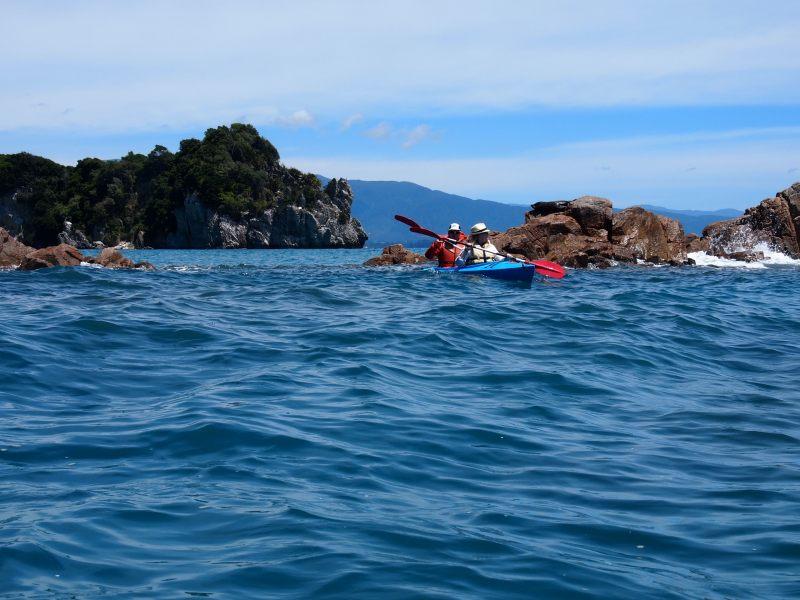 Kayaking with Holly (Takaka 2013)