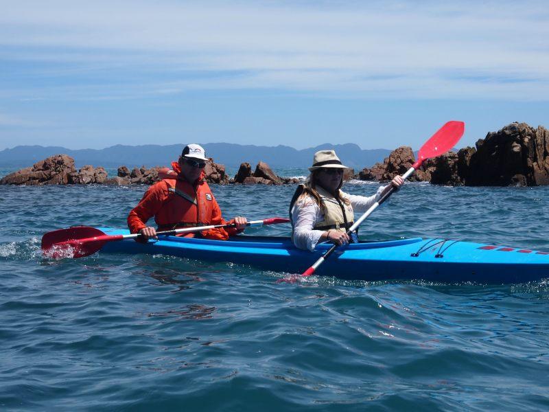 More kayaking (Takaka 2013)